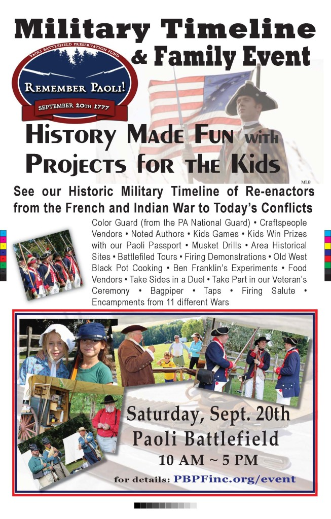 Military Timeline  Family Event Poster