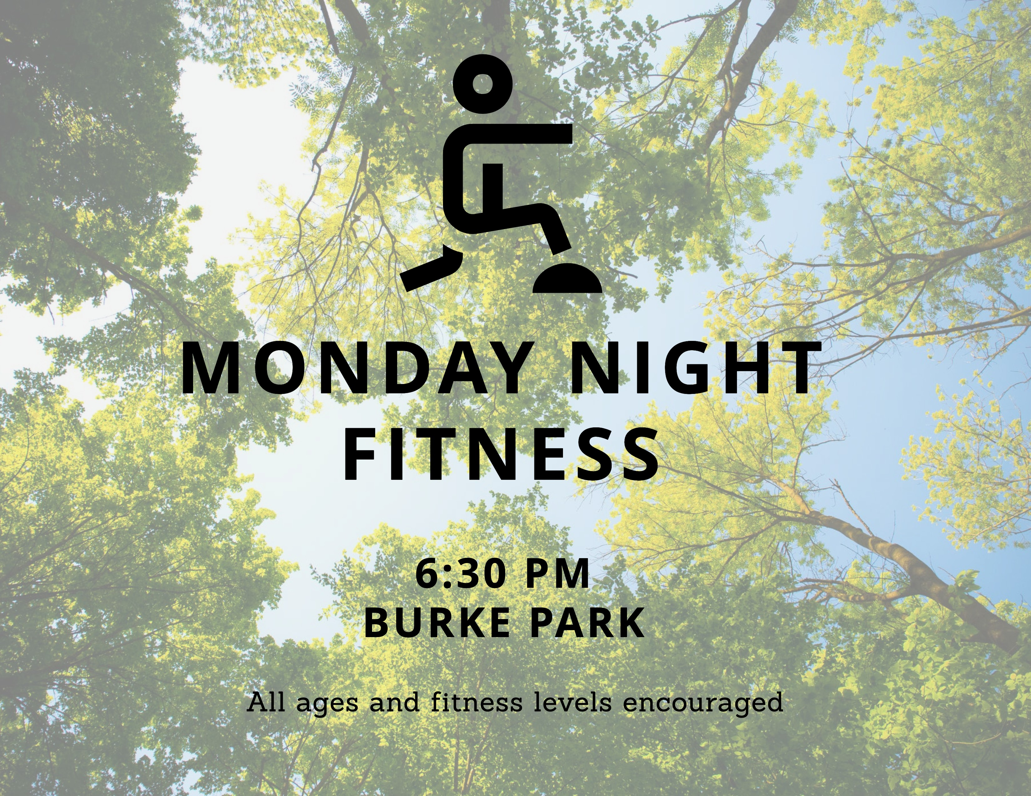 Fitness Class Yard Sign 6.3.21